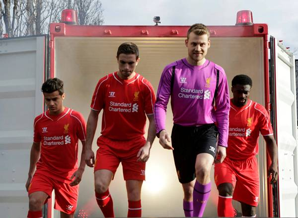 Image Result For Liverpool Fc Home Jersey