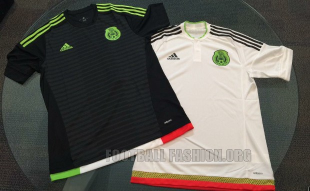 2dc9ff7cf Mexico 2015 16 adidas Home and Away Jerseys – Timix Patch