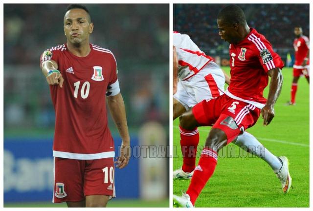 Equatorial Guinea 2015 Africa Cup of Nations Home Football Kit, Shirt, Camiseta de Futbol, Soccer Jersey