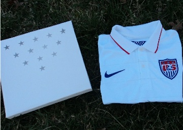 USA 2014 World Cup Authentic Nike Home Soccer Jersey, Football Kit, Shirt, Camiseta