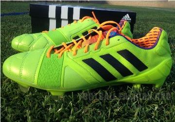 Up-Close: adidas Nitrocharge 1.0 Soccer Boot - Samba Pack Edition