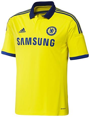 Chelsea FC 2014 2015 adidas Home Football Shirt, Soccer Jersey, Camiseta de Futbol