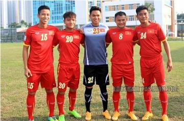 Vietnam 2014 2015 Grand Sport Home and Away Football Kit, Soccer Jersey, Shirt