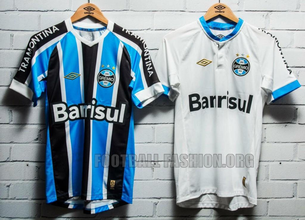 Gremio 2015 Umbro Camisa do Futebol, Soccer Jersey, Football Kit, Shirt
