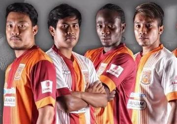 Pusamania Borneo 2015 Salvo Home and Away Football Kit, Soccer Jersey, Shirt