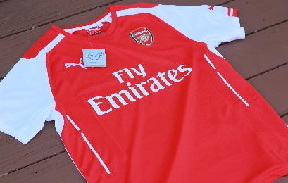 Arsenal Football Club 2014 2015 Puma Soccer Jersey, Maillot, Kit, Shirt, Replica