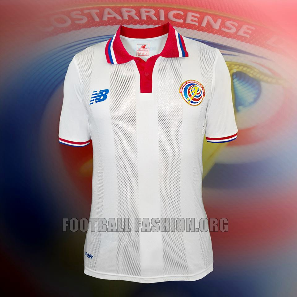 Costa Rica 2015 2016 New Balance Home and Away Football Kit, Soccer Jersey, Shirt, Camiseta de Futbol Copa Oro y Mundial