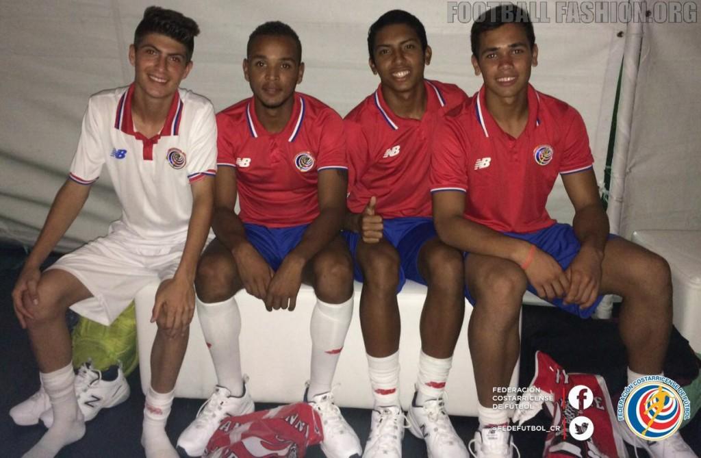 Costa Rica 2015/16 New Balance Home and Away Football Kit, Soccer Jersey, Shirt, Camiseta de Futbol Copa Oro y Mundial
