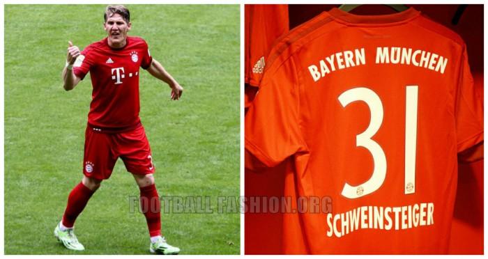 FC Bayern M U00fcnchen 2015 16 Adidas Home Kit FOOTBALL FASHION