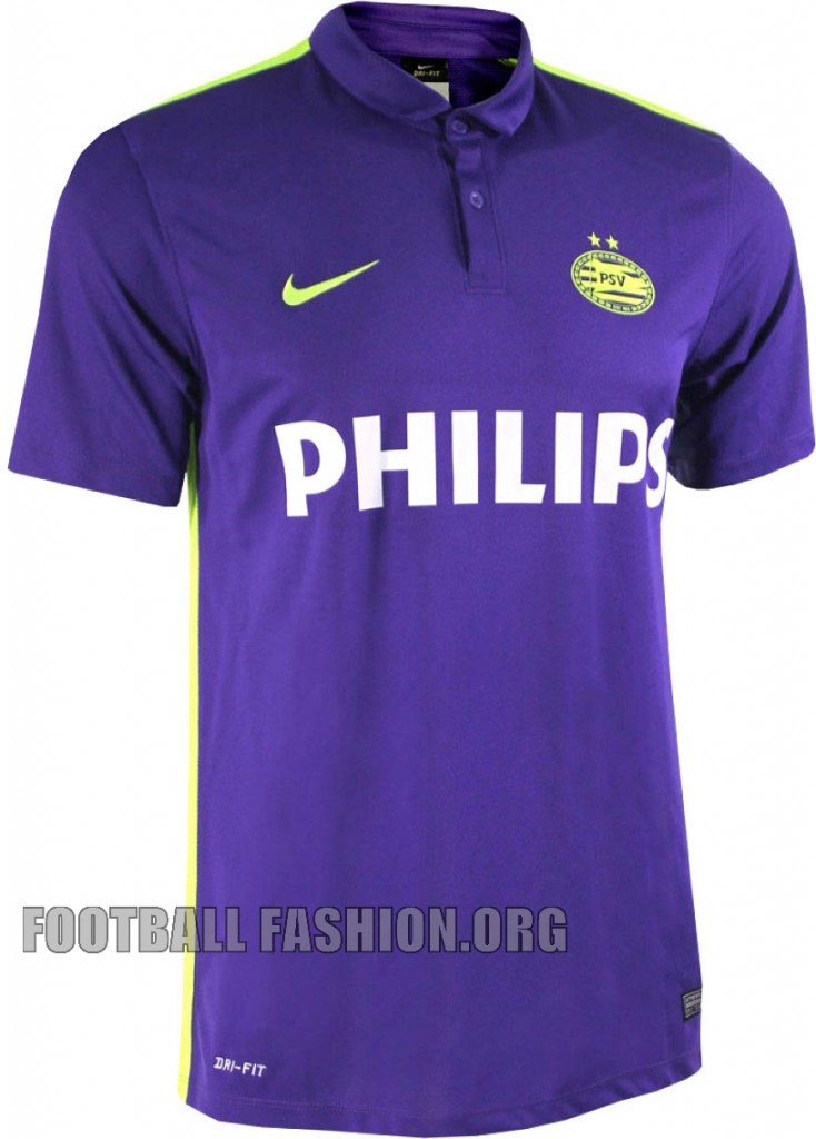 PSV Eindhoven 2015 Nike Purple Farewell Football Kit, Shirt, Soccer Jersey, Tenue