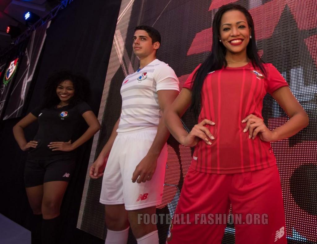 Panama 2015 2016 New Balance Home and Away Football Kit, Soccer Jersey, Shirt, Camiseta de Futbol del Sele