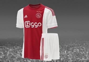 Ajax Amsterdam 2015 2016 adidas Home and Away Football Kit, Soccer Jersey, Shirt, Thuisshirt, Uitshirt