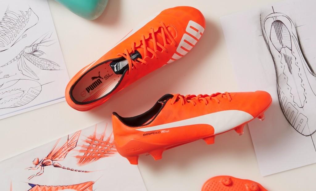 PUMA evoSPEED SL - The World's Lightest Soccer Boot