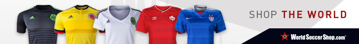 World Soccer Shop 2016 Jerseys