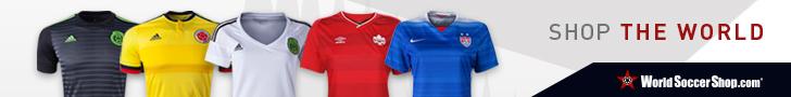 World Soccer Shop 2015 Copa America Jerseys