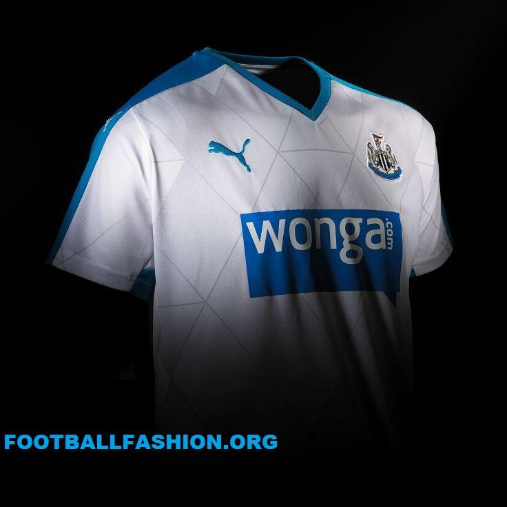 Newcastle United 2015 2016 PUMA Away Football Kit, Soccer Jersey, Shirt, Camiseta, Maillot