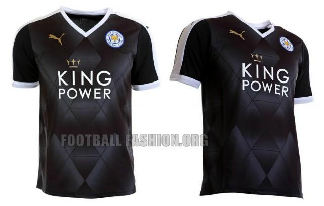 Leicester City 2015 2016 PUMA Away Football Kit, Soccer Jersey, Shirt