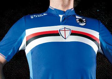 UC Sampdoria 2015 2016 Joma Home, Away and Third Football Kit, Soccer Jersey, Shirt, Gara, Maglia, Camiseta