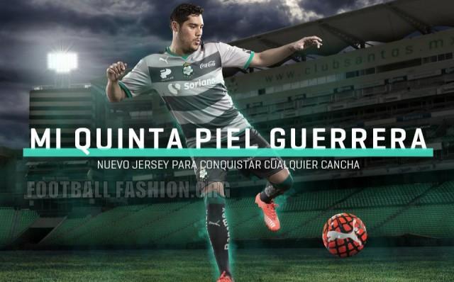 Santos Laguna 2015/16 PUMA Home and Away Jerseys