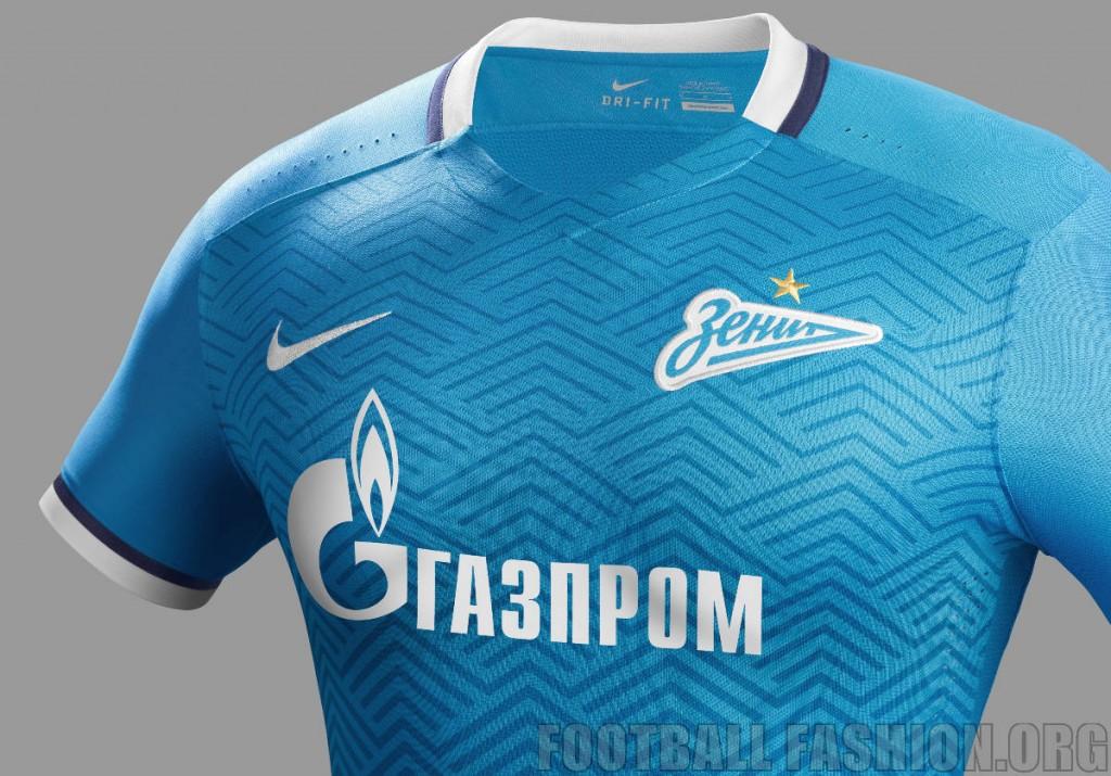FC Zenit Saint Petersburg 2015 2016 Nike Home and Away Football Kit, Soccer Jersey, Shirt, Camisa, Camiseta