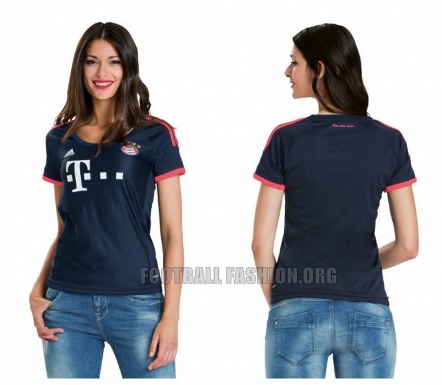 FC Bayern München 2015 2016 adidas Champions League Fotball Kit, Soccer Jersey, Shirt, Trikot, Camiseta