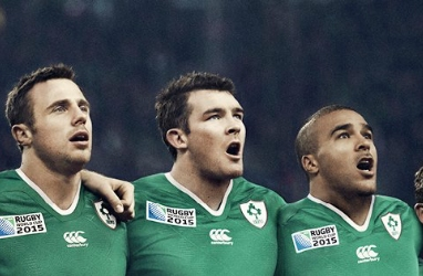 Ireland 2015 Rugby World Cup Canterbury Home and Away Kit, Jersey, Shirt