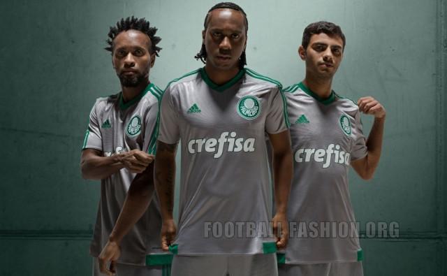 Palmeiras 2015 2016 Away and Third Football Kit, Soccer Jersey, Shirt, Camisa