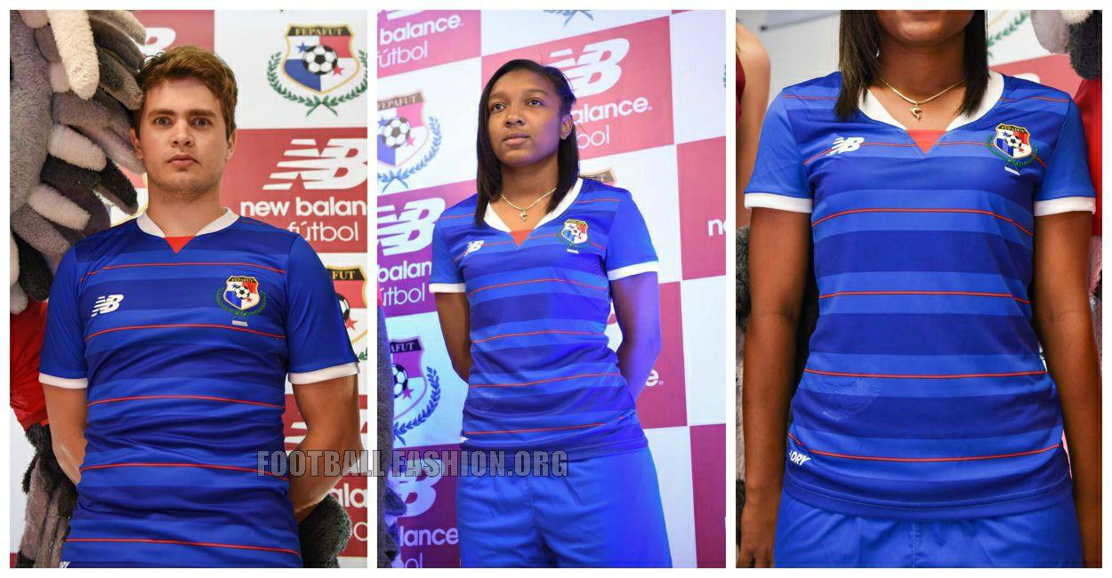 Panama 2015 2016 New Balance Blue Third Football Kit, Soccer Jersey, Shirt, Camiseta Azul de Futbol, Equipacion, Playera