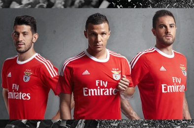 SL Benfica 2015 2016 Home and Away Football Kit, Soccer Jersey, Camisola, Camiseta, Shirt