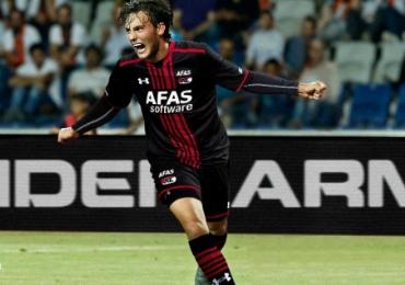 AZ Alkmaar 2015 2016 Under Armour Away and Third Kit, Soccer Jersey,, Shirt, Tenue, Uitshirt, Thuisshirt