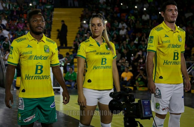 Club León 2015 2016 Pirma Home, Away and Third Soccer Jersey, Football Kit, Shirt,. Camiseta, Playera, Equipacion