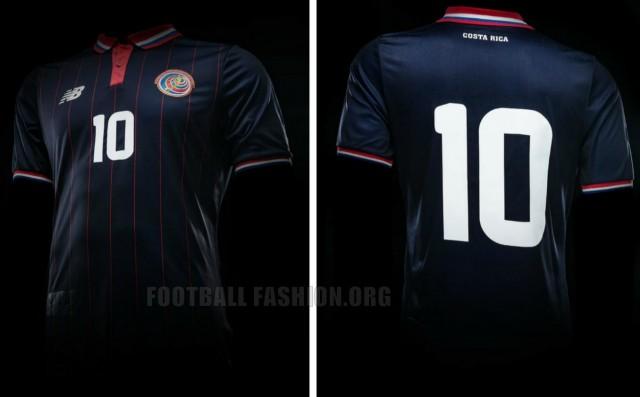 Costa Rica 2015 2016 New Balance Third Football Kit, Soccer Jersey, Shirt, Camiseta de Futbol, Piel, Equipacion