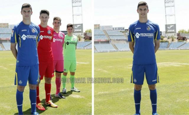 Getafe CF 2015 2016 Joma Home, Away and Third Football Kit, Soccer Jersey, Shirt, Camiseta, Equipacion
