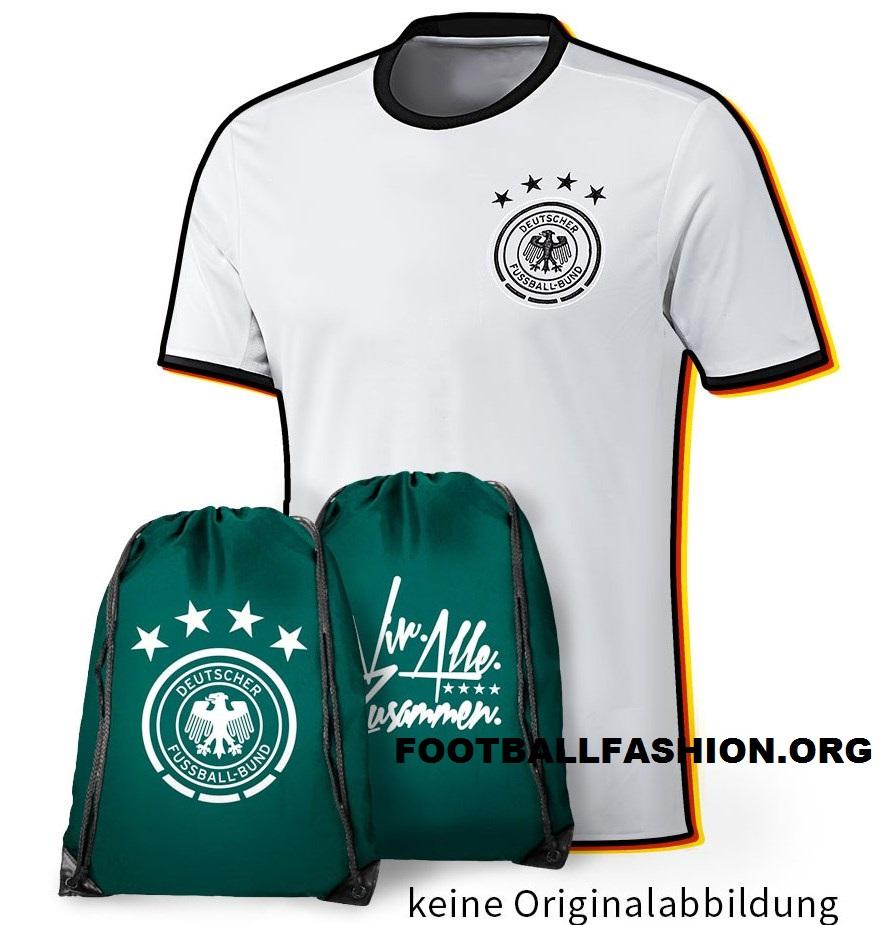 Germany adidas EURO 2016 White Home Soccer Jersey, Shirt, Football Kit, Trikot. Deutsche Nationalmannschaft Heimtrikot EM 2016