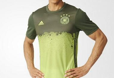 Germany EURO 2016 adidas Soccer Jersey, Football Kit, Shirt, Trikot, AUFWÄRMSHIRT EM