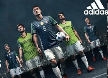 Germany EURO 2016 adidas Away Soccer Jersey, Football Kit, Shirt, Trikot, Auswärtstrikot EM