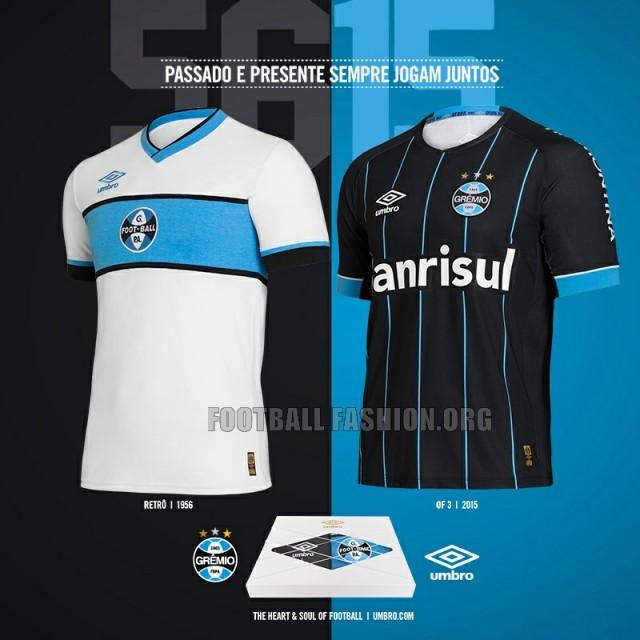 Grêmio 2016 Umbro Fourth and Retro Soccer Jersey, Football Kit, Shirt, Camisa Quarta