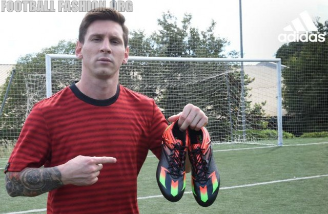 Lionel Messi Set for Return in New Look adidas Messi 15 Boots