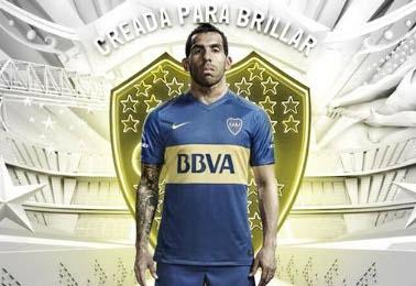 Boca Juniors 2016 Nike Home Soccer jersey, Football Kit, Camiseta de Futbol, Equipacion, Piel, Playera