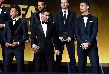 Lionel Messi and Carli Lloyd Triumph at FIFA Ballon d'Or