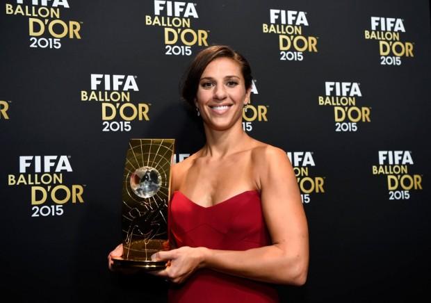 Lionel Messi and Carli Lloyd Triumph at FIFA Ballon d'Or