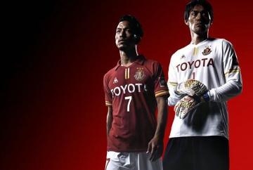 Nagoya Grampus 2016 le coq sportif Home Football Kit, Soccer Jersey, Shirt