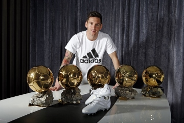 adidas Celebrates the Ultimate Creator with Platinum Messi 15