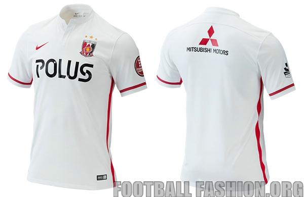 Urawa Red Diamonds 2016 Nike Home and Away Football Kit, Soccer Jersey, Shirt