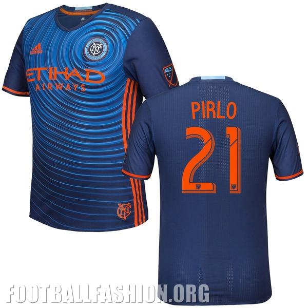 New York City FC Reveals adidas 2016 Away Soccer Jersey, Shirt, Football Kit, Camiseta de Futbol