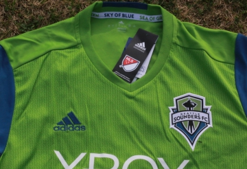 best sneakers 42ba7 2a59f Up-Close: Seattle Sounders FC 2016 adidas Home Jersey ...