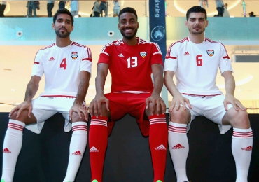 United Arab Emirates 2016 adidas Home and Away Football Kit, Soccer Jersey, Shirt