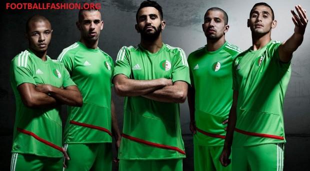 Algeria 2016 2017 adidas Home and Away Football Kit, Soccer Jersey, Shirt, Maillot