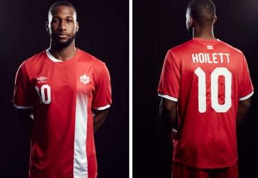 Canada 2016 Umbro Home Soccer Jersey, Shirt, Football Kit, Maillot