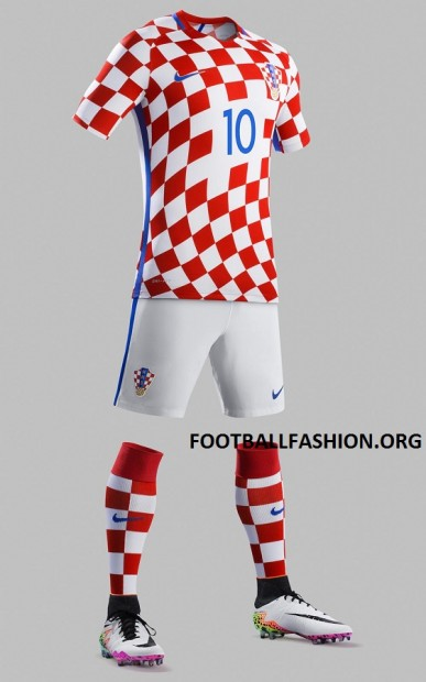 Croatia EURO 2016 Nike Home and Away Football Kit, Soccer Jersey, Shirt, Europskom Dres